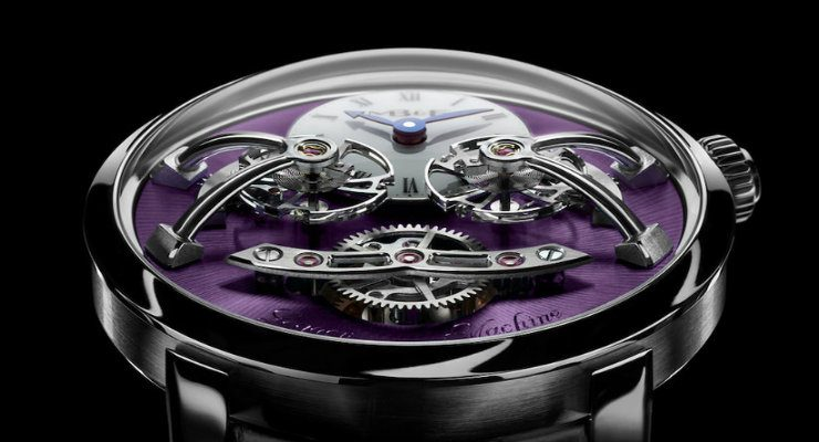 Swiss watch brand Have a look at this exclusive watch by Swiss watch brand MB&F DESTAQUE 4 740x400