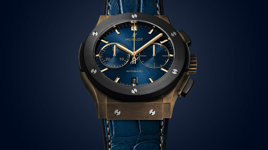 A look at the Hublot Classic Fusion Bronze Bucherer Blue Edition Hublot Classic Fusion A look at the Hublot Classic Fusion Bronze Bucherer Blue Edition IMG1 3