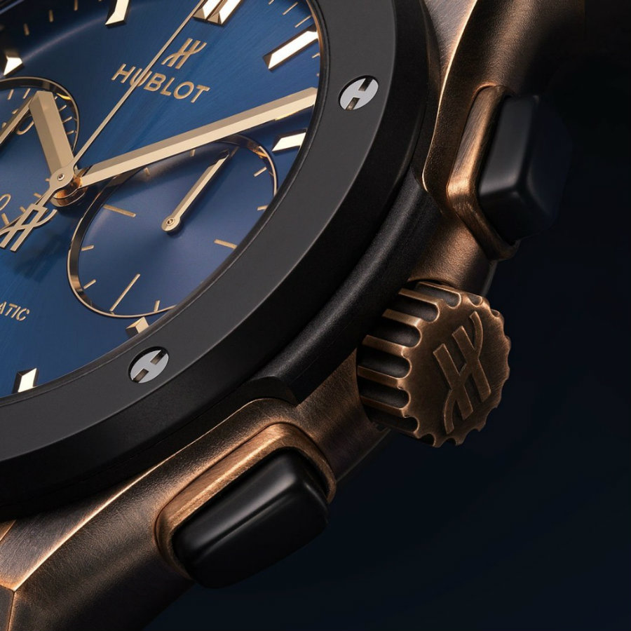 A look at the Hublot Classic Fusion Bronze Bucherer Blue Edition Hublot Classic Fusion A look at the Hublot Classic Fusion Bronze Bucherer Blue Edition IMG5 3