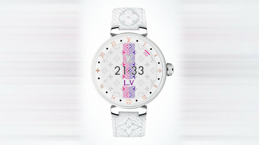 Check out the makeover of Louis Vuitton's Tambour watch