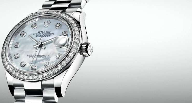 Ladies watches These are our choices for the top 5 Ladies watches Rolex Destaque 740x400  Home Rolex Destaque 740x400