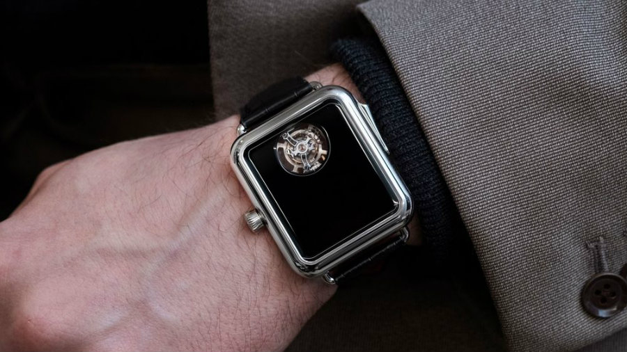 This H. Moser & Cie Watch is very lookalike an Apple Watch h. moser This H. Moser & Cie Watch is very lookalike an Apple Watch Watch1 1