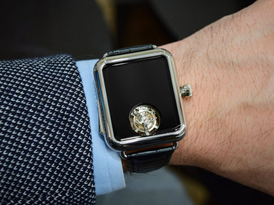 This H. Moser & Cie Watch is very lookalike an Apple Watch h. moser This H. Moser & Cie Watch is very lookalike an Apple Watch Watch3 1