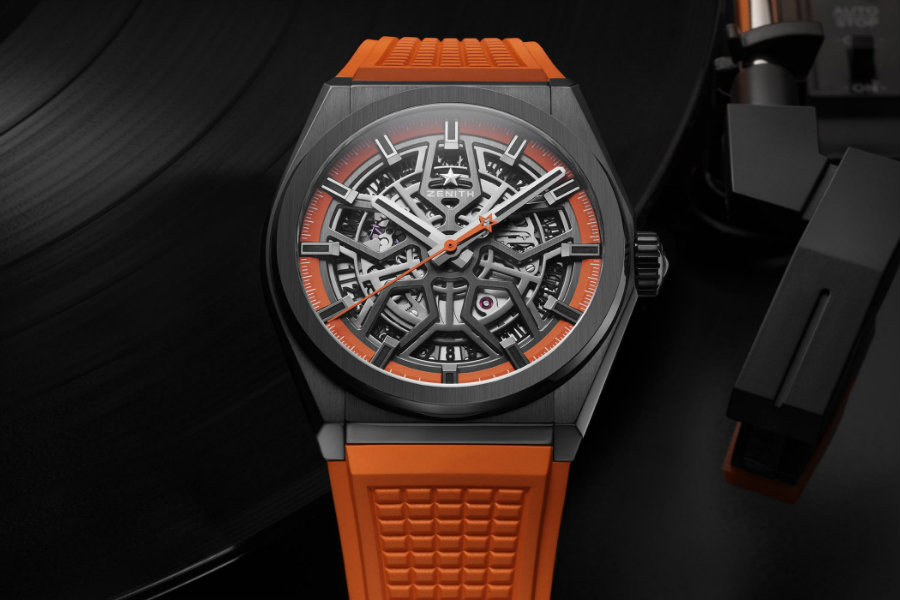 Orange is the new black with new Zenith Defy Classic Swizz Beatz Zenith Defy Orange is the new black with new Zenith Defy Classic Swizz Beatz Zenith Defy Classic Black Ceramic Skeleton Swizz Beatz Edition 5