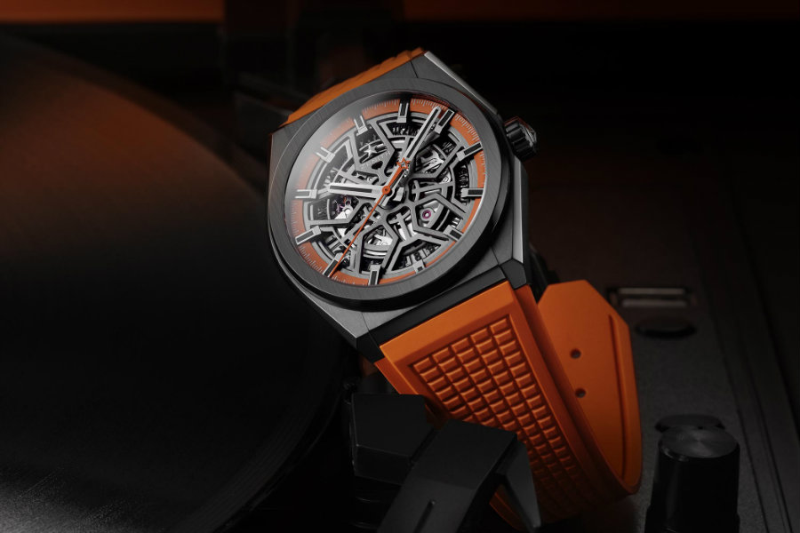 Orange is the new black with new Zenith Defy Classic Swizz Beatz Zenith Defy Orange is the new black with new Zenith Defy Classic Swizz Beatz Zenith Defy Classic Black Ceramic Skeleton Swizz Beatz Edition 6 1