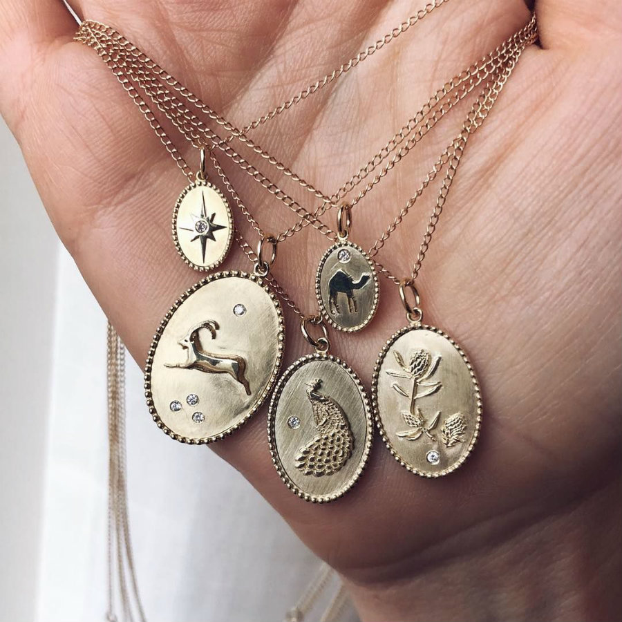 Meet Zahava: a jewelry brand with roots to the past zahava Meet Zahava: a jewelry brand with roots to the past pendants