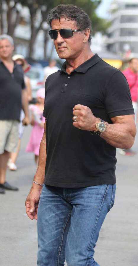 Check out some watch brands celebrities like to wear watch brands celebrities Check out some watch brands celebrities like to wear sylverster stallone