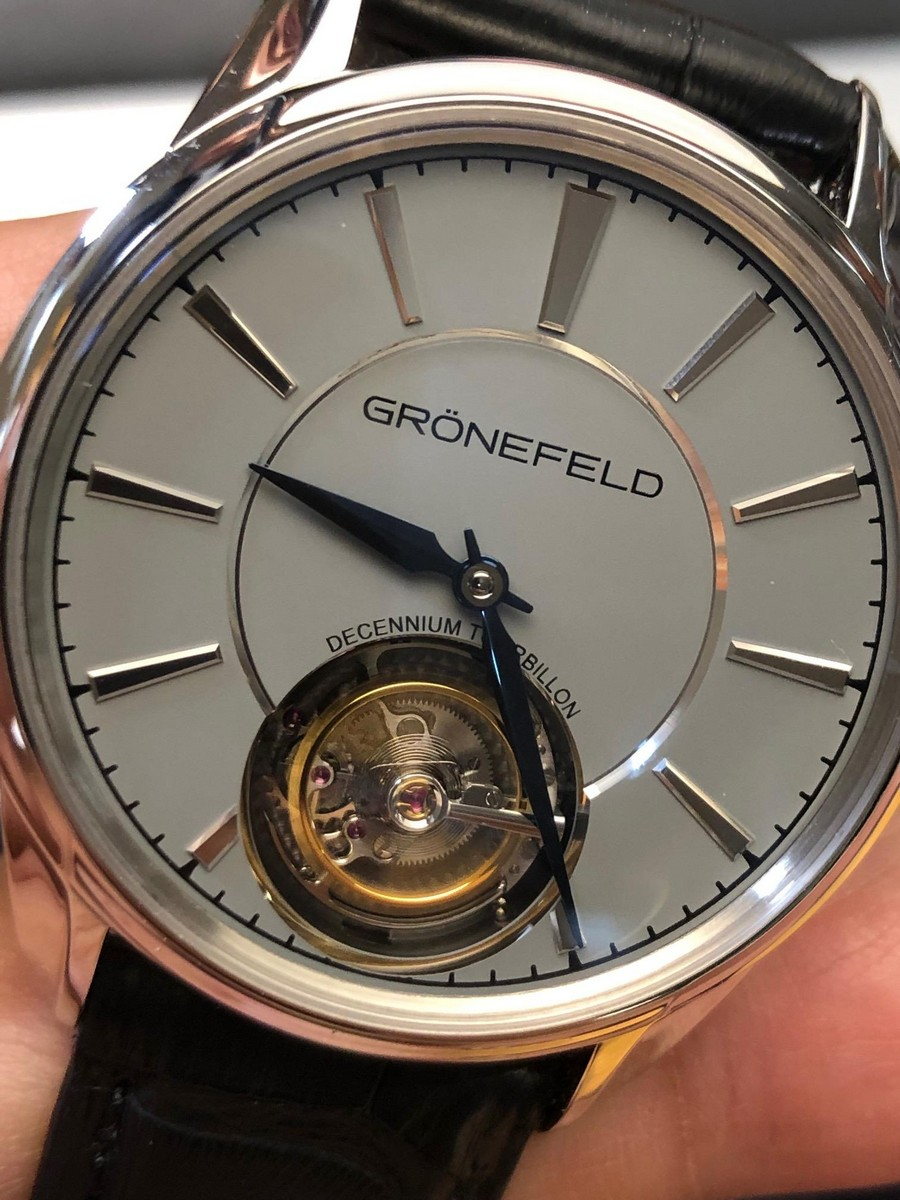 baselworld 2019 Baselworld 2019: another list of watches of the event Gr  nefeld
