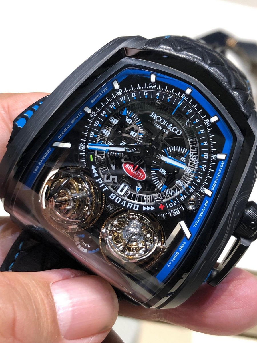 baselworld 2019 Baselworld 2019: another list of watches of the event Jacob e CO and Bugatti2