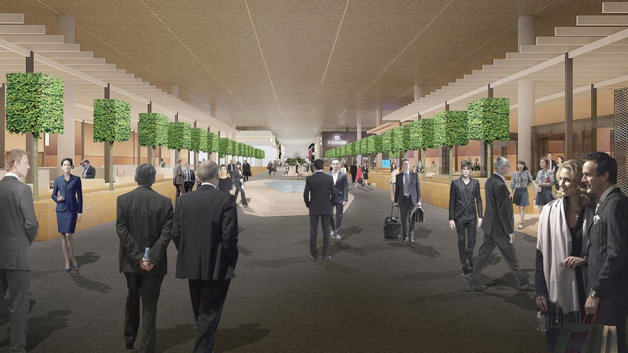 baselworld Baselworld: what can you expect for this year's edition? Rendering Of The Baselworld Central Plaza In Hall 10