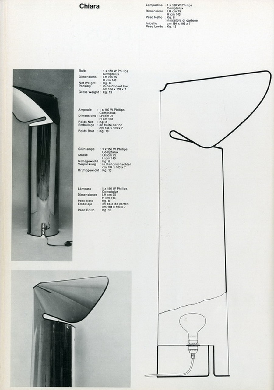 flos Have a look into Flos' products by top renowned designers Chiara Mario Bellini Catalogo Flos 63