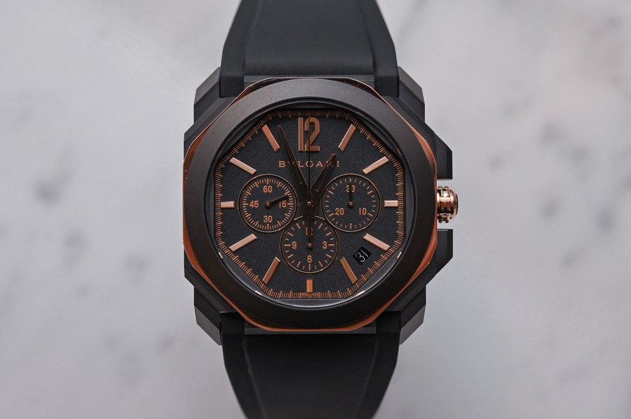 Baselworld 2019: black and white is a trend in luxury watches baselworld Baselworld 2019: black and white is a trend in luxury watches Bvlgari