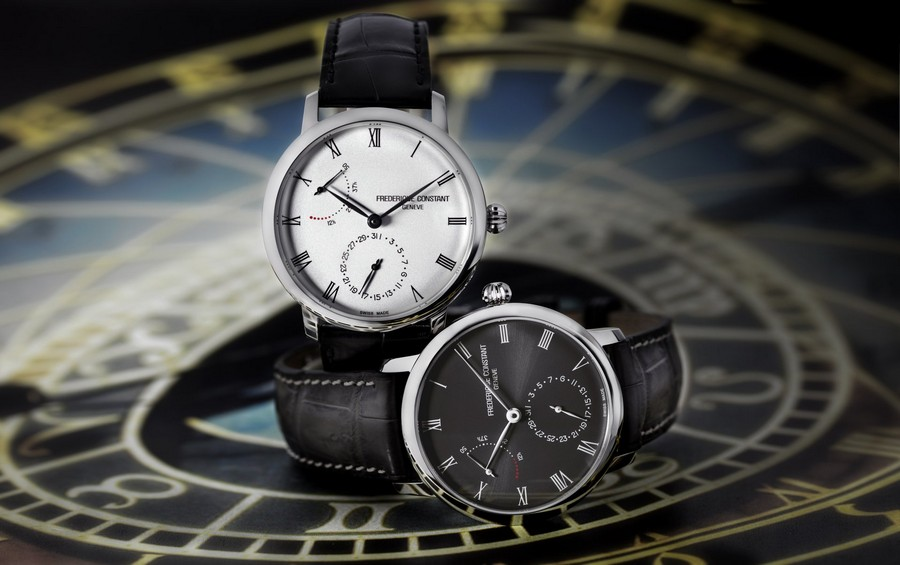 baselworld Baselworld 2019: black and white is a trend in luxury watches Fr  d  rique Constant