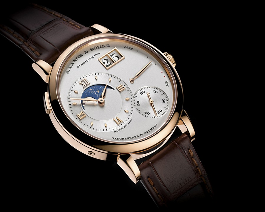 lange 1 A. Lange & Söhne's Lange 1 watch back for a 25th anniversary edition Grand Lange 1 Moon Phase