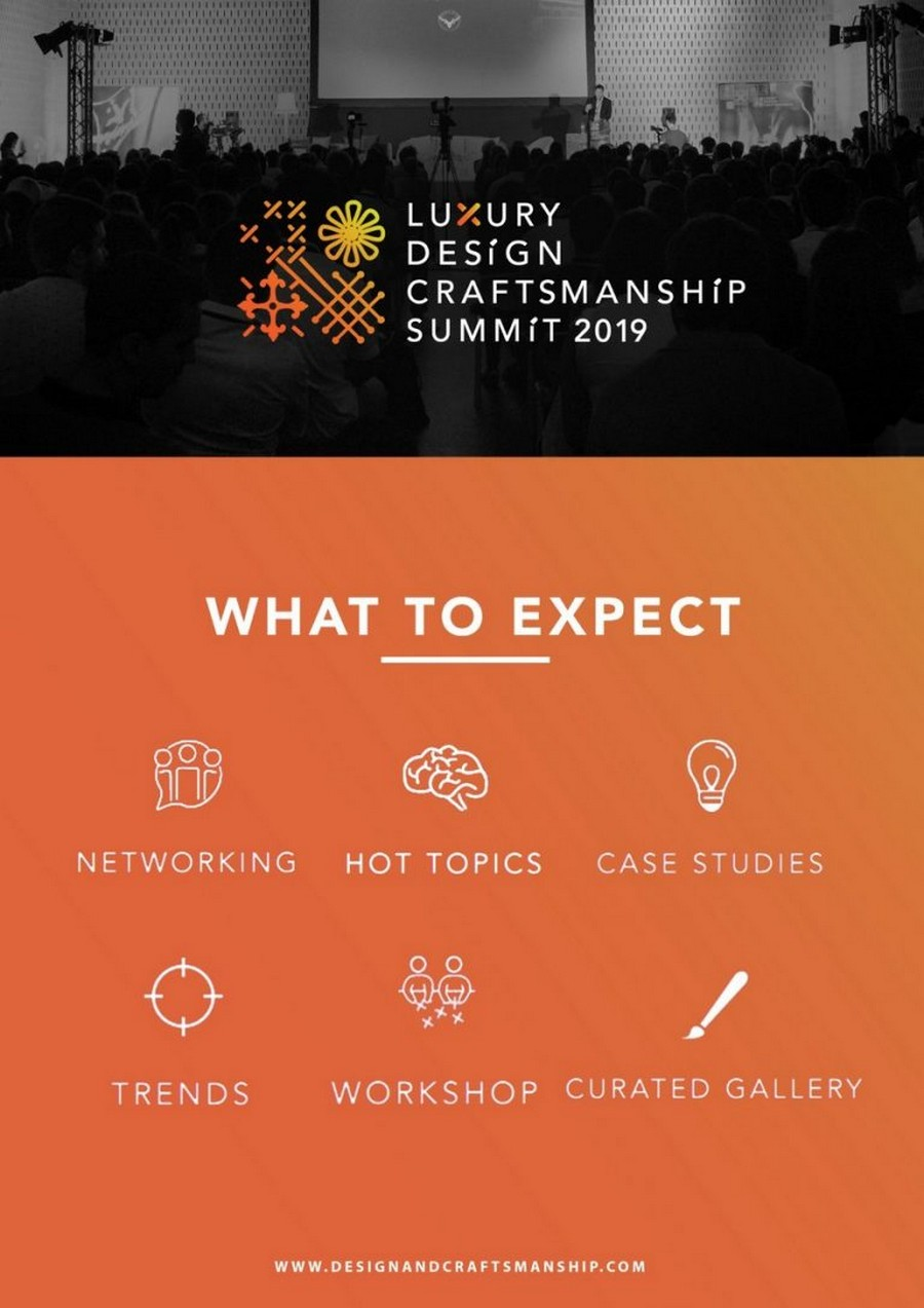 craftsmanship summit 2019 Luxury Design & Craftsmanship Summit 2019: know more about the event LDC3 768x1086
