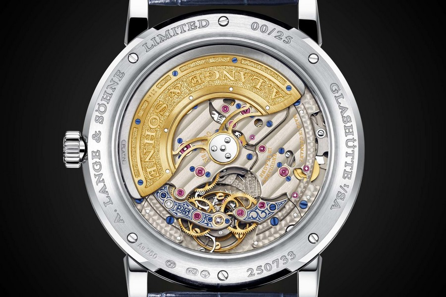 lange 1 A. Lange & Söhne's Lange 1 watch back for a 25th anniversary edition Lange2