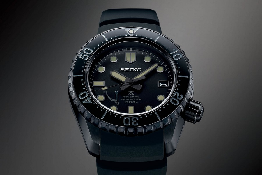 baselworld Baselworld 2019: black and white is a trend in luxury watches Seiko Prospex