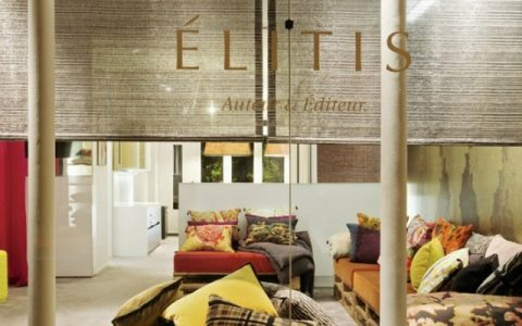 Élitis Élitis: a French company with a special touch for fabrics FEATURE 5 480x300