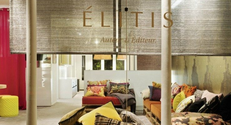 Élitis Élitis: a French company with a special touch for fabrics FEATURE 5 740x400