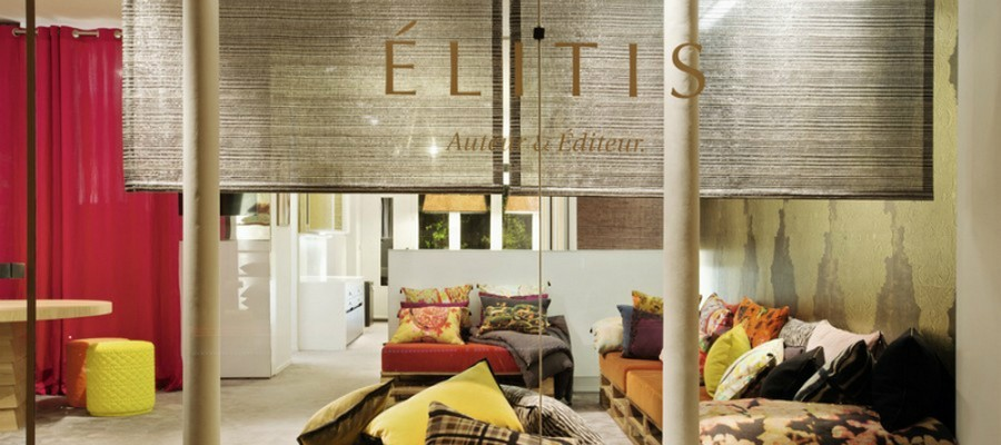 Élitis Élitis: a French company with a special touch for fabrics FEATURE 5