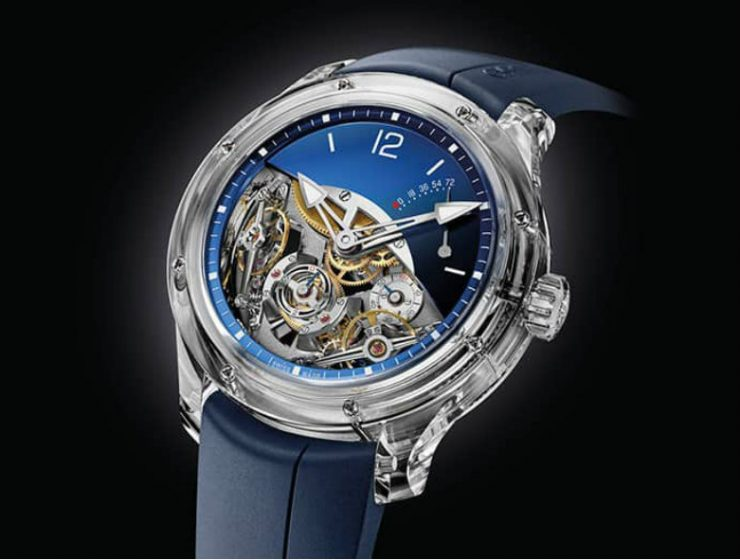 greubel forsey Limited Edition Watch: Greubel Forsey Double Balancier Greubel Forsey Double Balancier 3 1 1 740x560