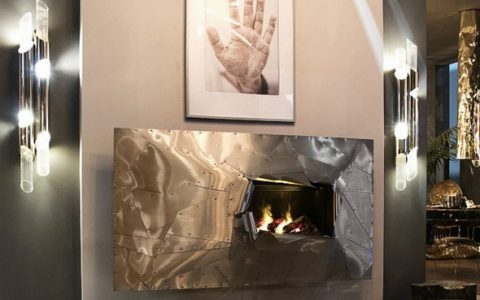 high end fireplaces High End Fireplaces to Warm Your Winter Eruption Wall Fire 2 480x300
