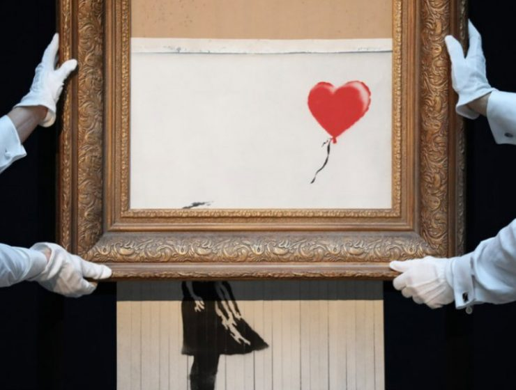 Art Basel Miami Banksy at Art Basel Miami 2018 1 Banksy at Art Basel Miami 2018 740x560