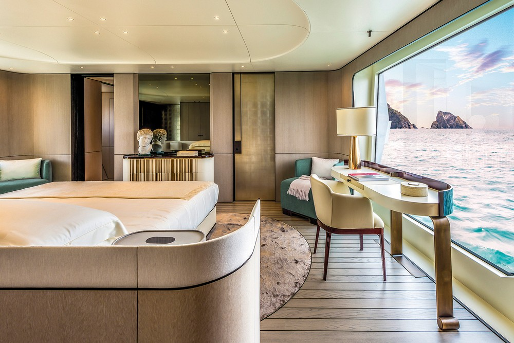 Achille Salvagni yacht design Extravagant Yacht Design – Find more about Achille Salvagni's art work Achille Salvagni 5