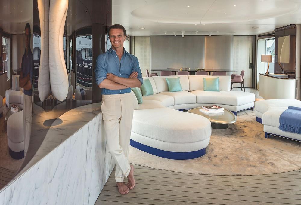 Achille Salvagni yacht design Extravagant Yacht Design – Find more about Achille Salvagni's art work Achille Salvagni